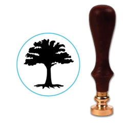 Tree 7 Wax Seal Stamp # R687