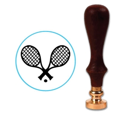 Tennis Rackets Wax Seal Stamp # R731