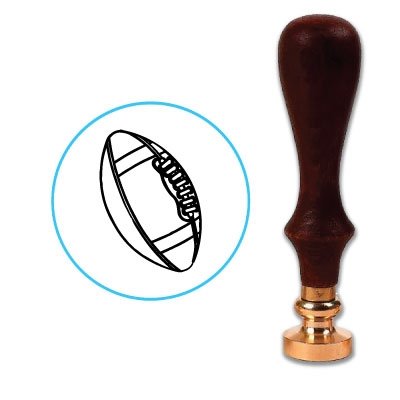Football Wax Seal Stamp # R737