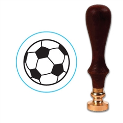 Soccer Ball Wax Seal Stamp # R738