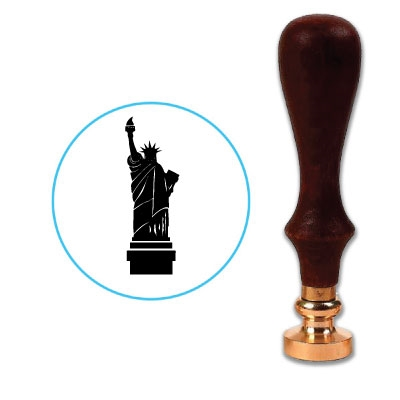 Statue Of Liberty Wax Seal Stamp # R877