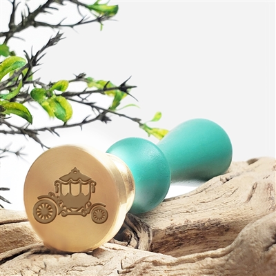 Wedding Carriage Coach Wax Seal Stamp - #R886