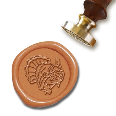 Thanksgiving Turkey Wax Seal Stamp # R920