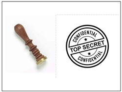 Wax Seal Stamp - Top Secret