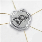 Game of Thrones House - Stark Wax Seal Stickers-50 Stickers-50PK- 1""