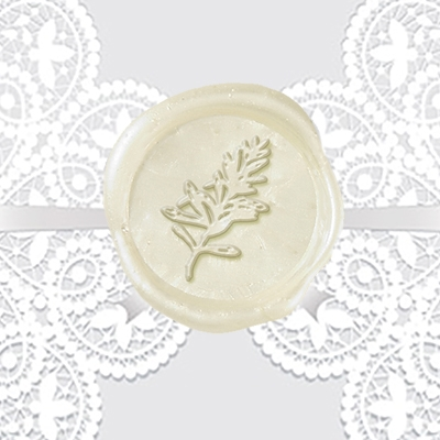 Rosemary Wax Seal Stickers-50 Stickers-50PK- 1""