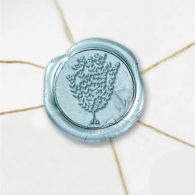Thyme Wax Seal Stickers-50 Stickers-50PK- 1""