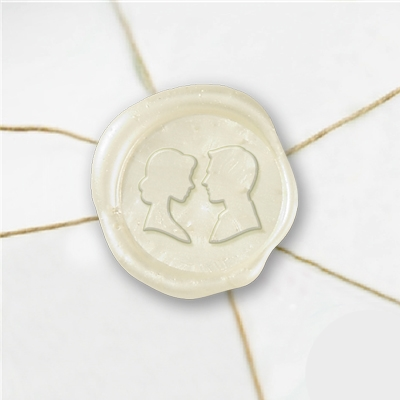 Cameo Wax Seal Stickers-50PK- 1""