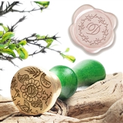 Custom Initial Wax Seal Stamp-choice of 25 designs