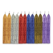 12PkSealing Wax-  Metallic Variety Saver Pack-Flexible & Mailable