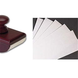 Wood Ink Blotter Paper refill
