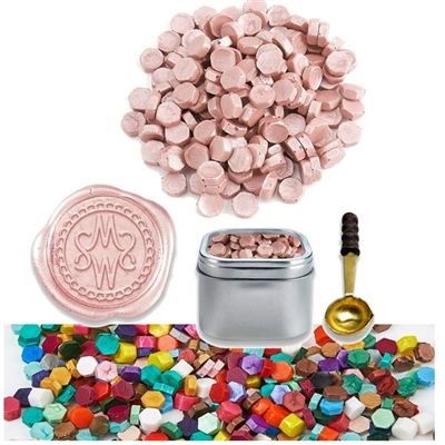 Sealing Wax Beads in Tin -your choice of color