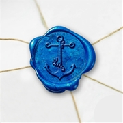 Anchor with Rope Wax Seal Stickers-50 Stickers-50PK- 1""