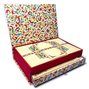 Luxe Italian Stationery Set in Keepsake Desktop Box