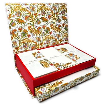 Luxe Italian Stationery Set in Keepsake Desktop Box - Cipro