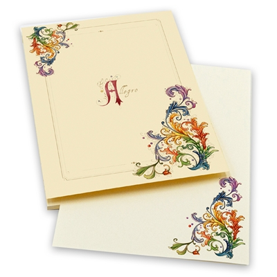 Italian Notepad A5 -50 sheets - Allegro